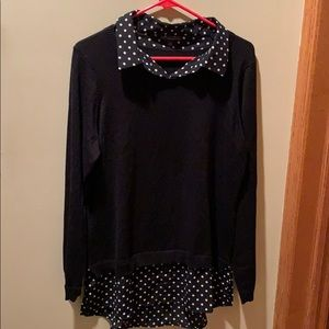 Adrianna Papell sweater/tunic top